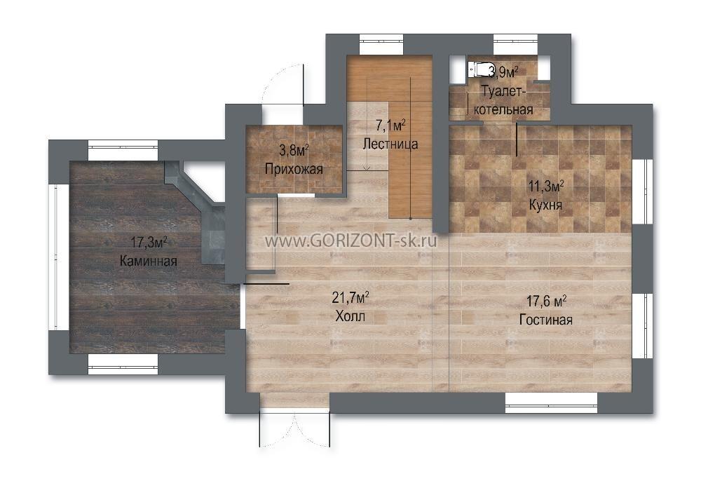 Дом Терра план