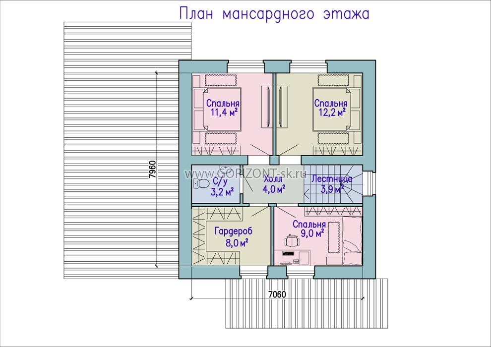Дом Скиф план