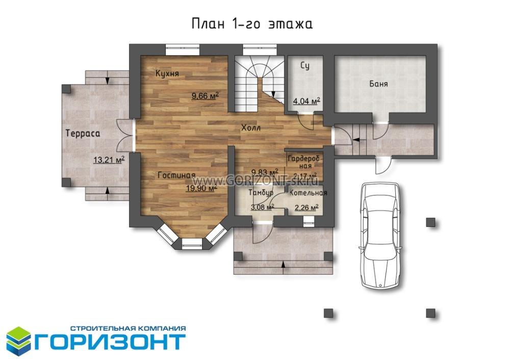 Дом Марко план