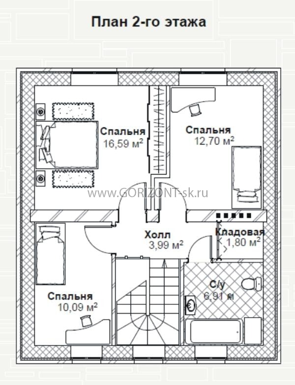 Дом Оптима план