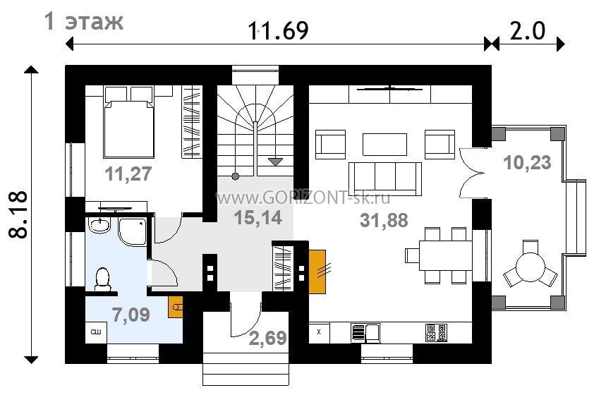 Дом Гамильтон план