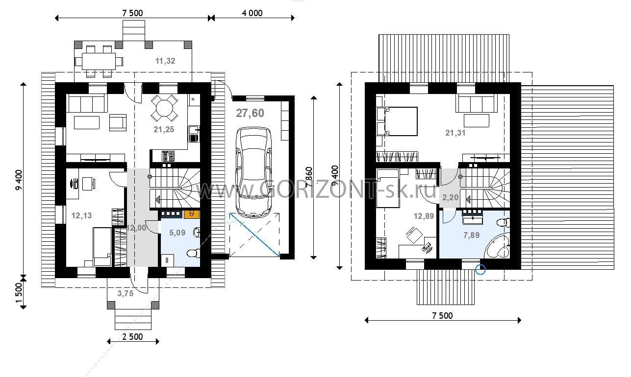 Дом Лидос план