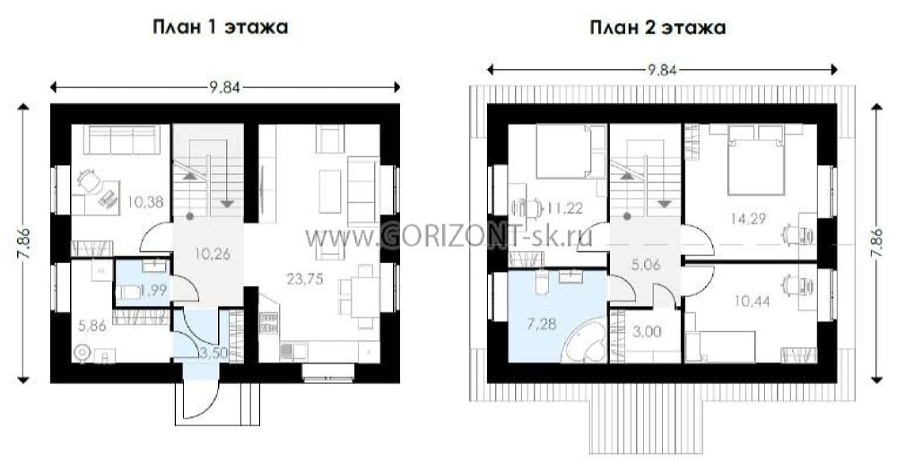 Дом Лидос-2 план