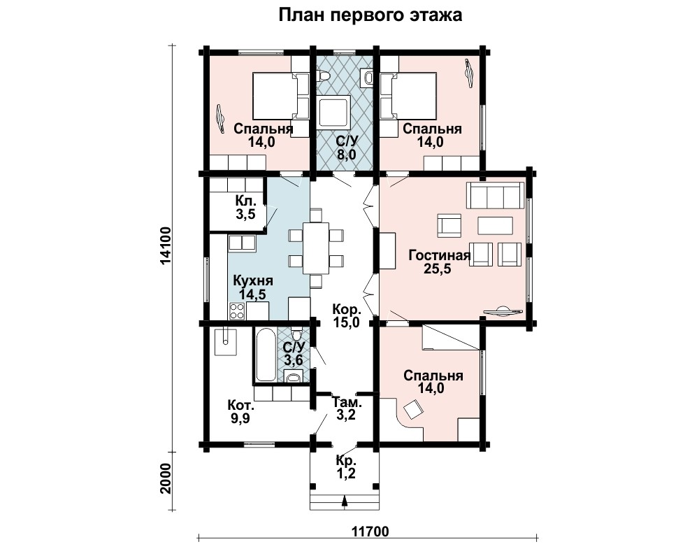 Дом Свет план