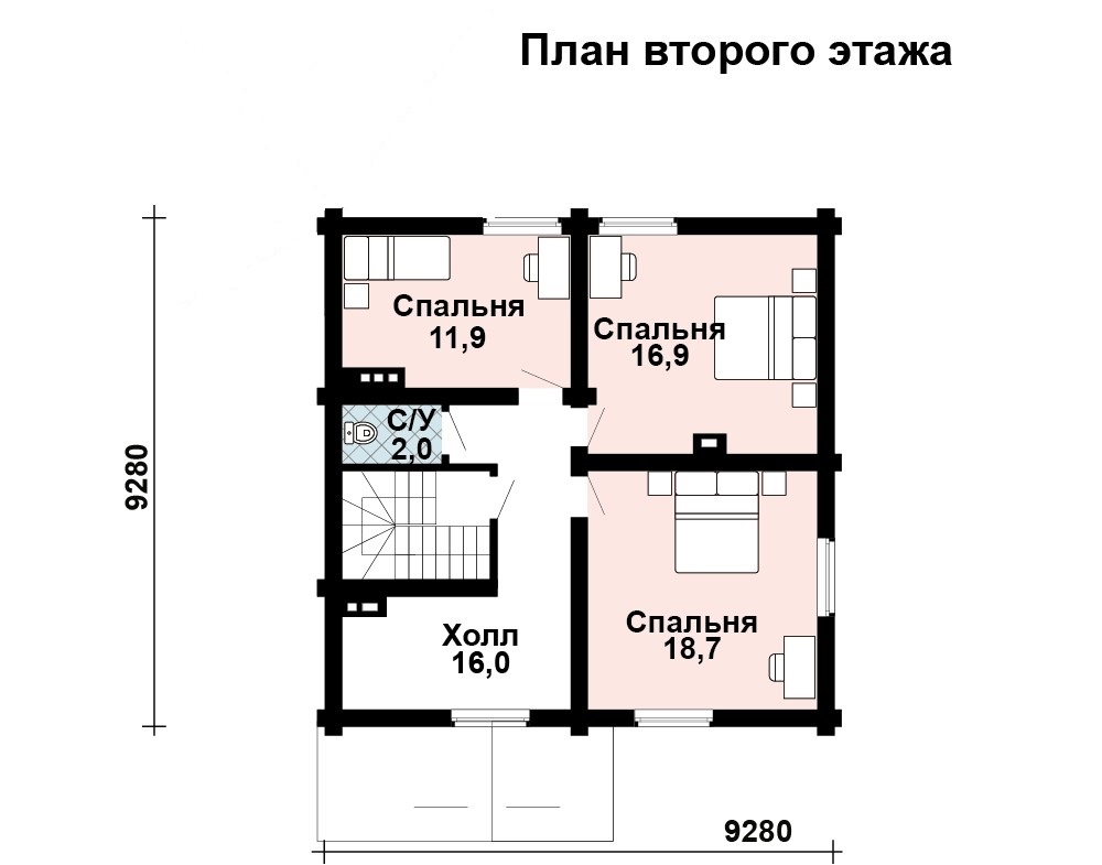 Дом Терем план