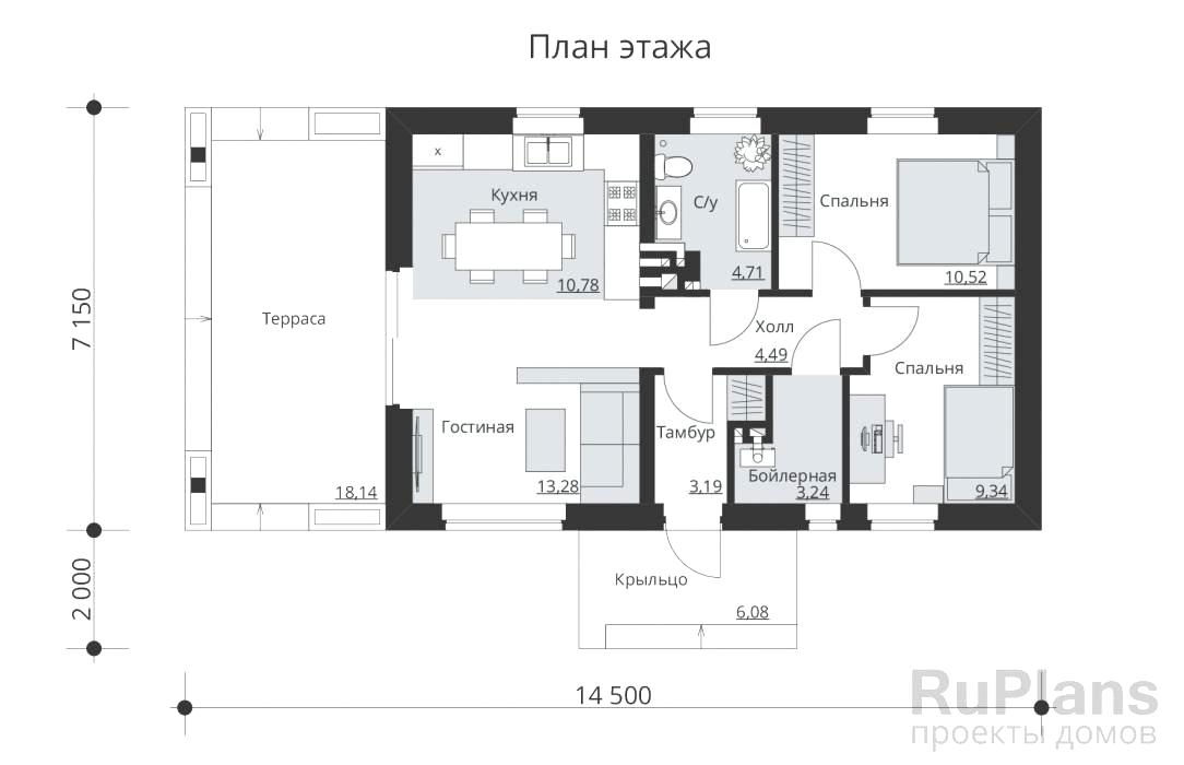Дом Вилладж план
