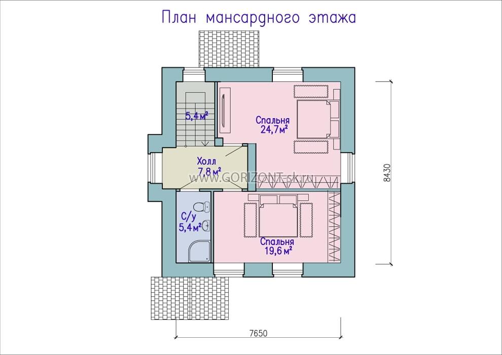 Дом Холс план