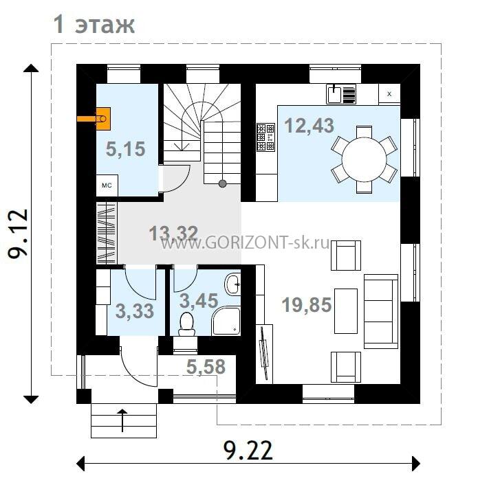 Дом Амарант план
