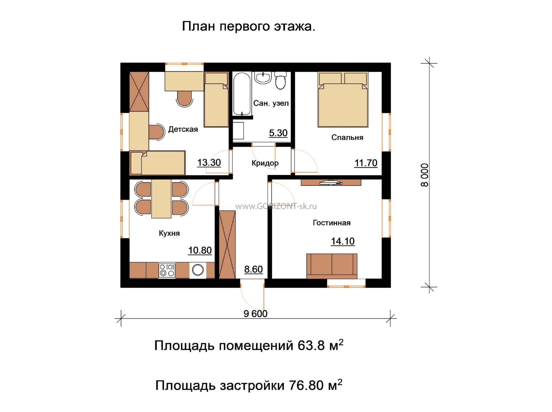 Дом Милод план