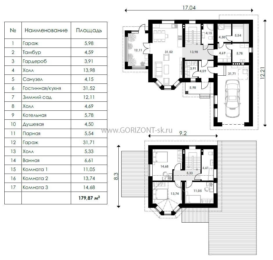 Дом Марко-2 план
