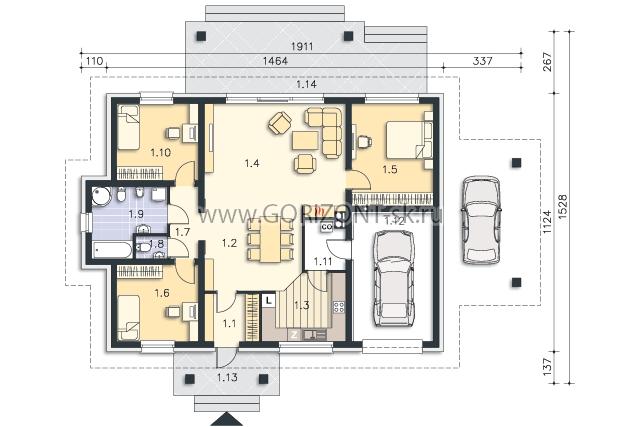 Дом Махао план