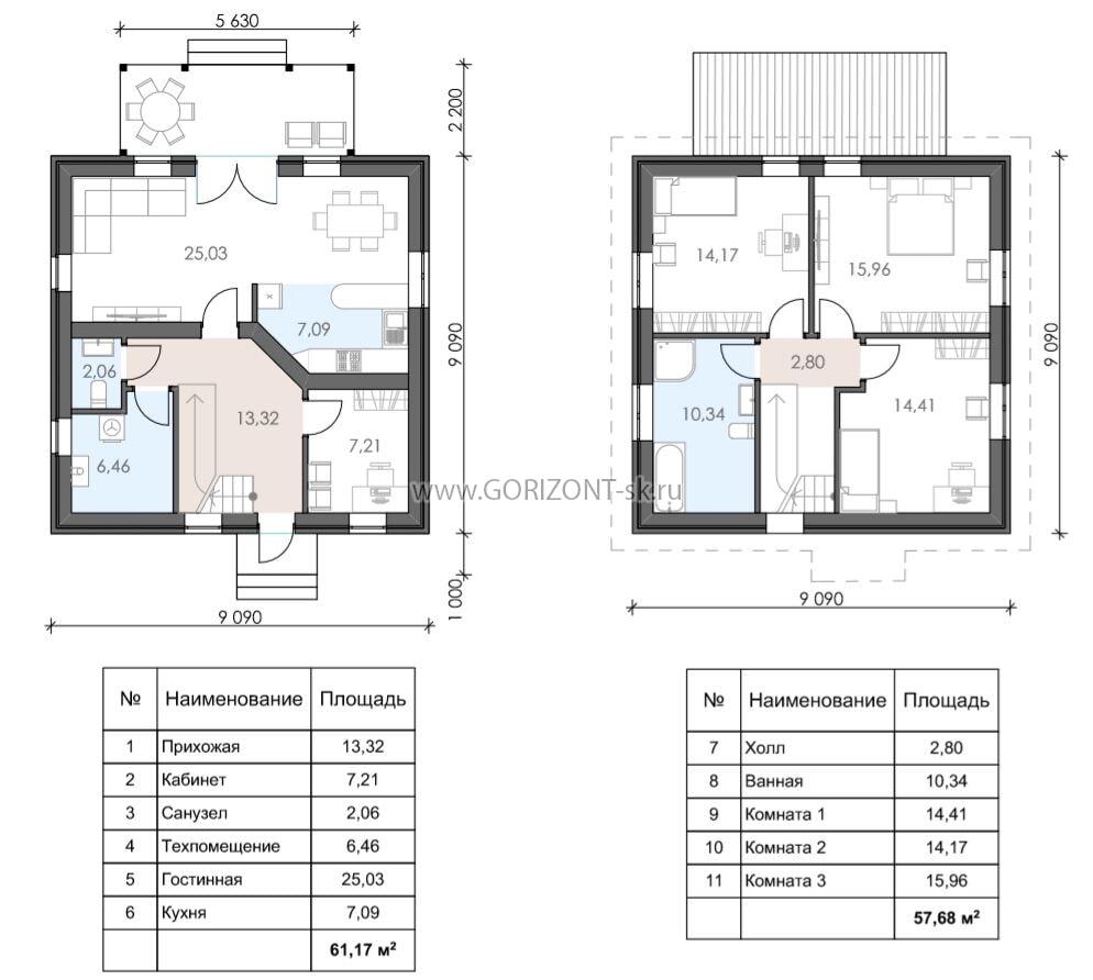 Дом Браун план
