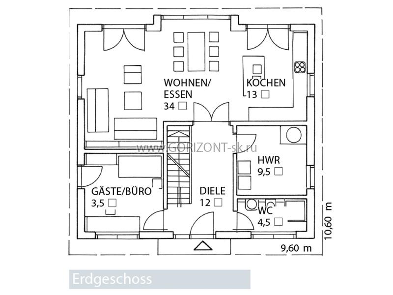 Дом Гамуб план