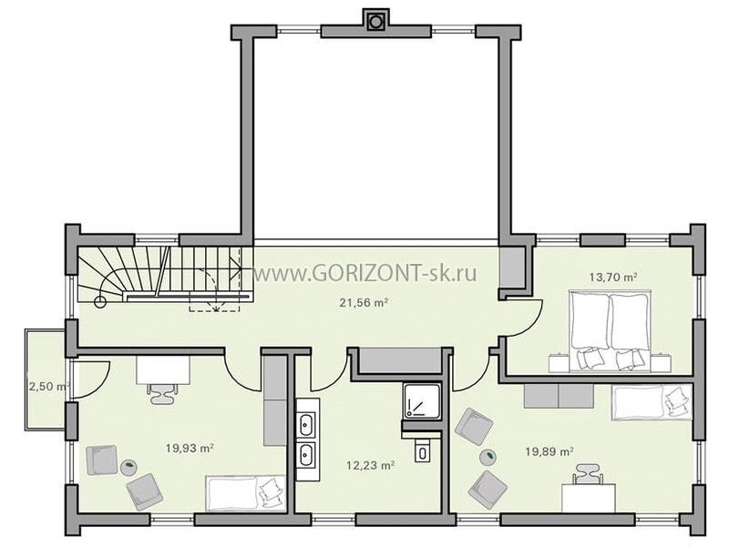Дом Кристан план