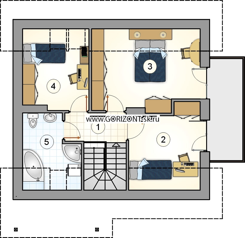 Дом Астрид план