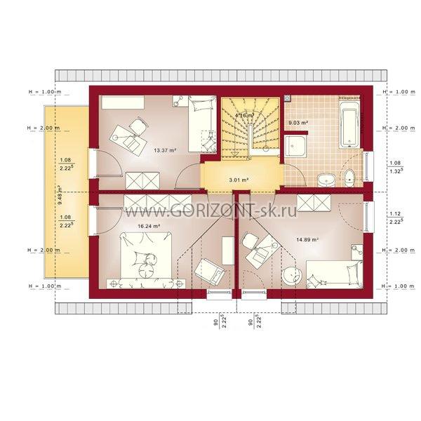 Дом Премио план