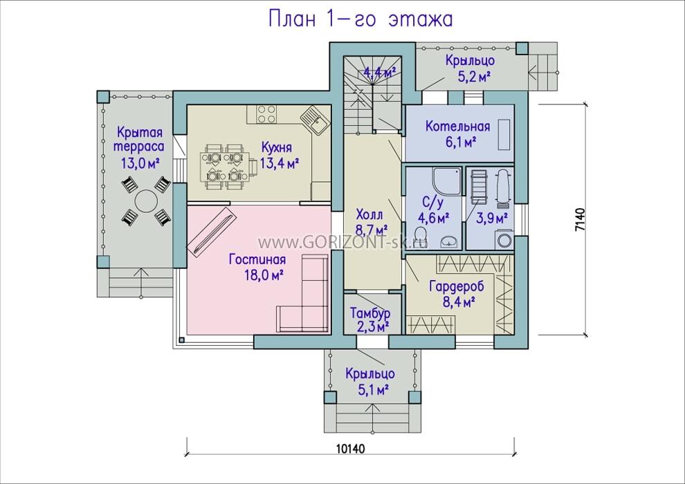 Дом Бавария план