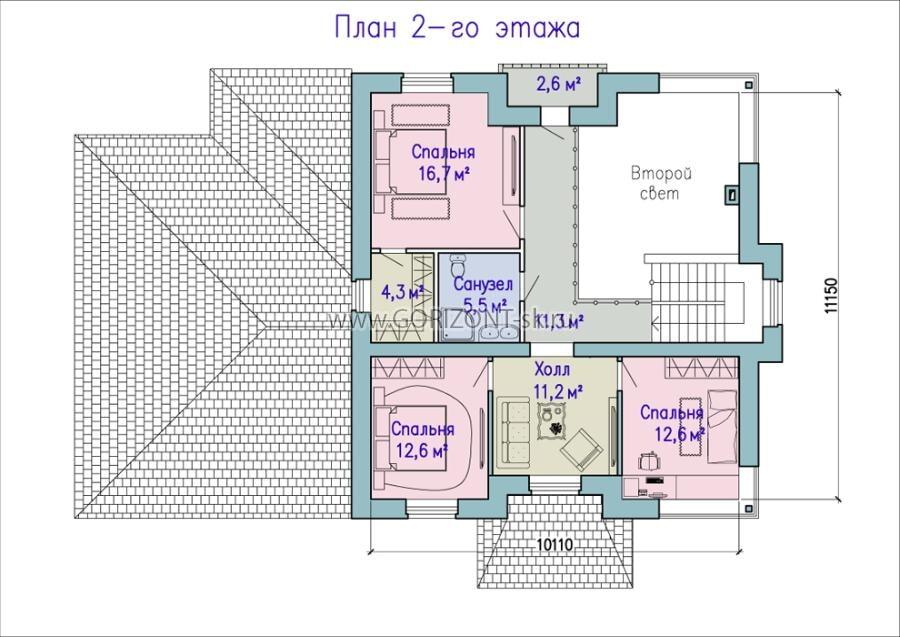 Дом Маур план