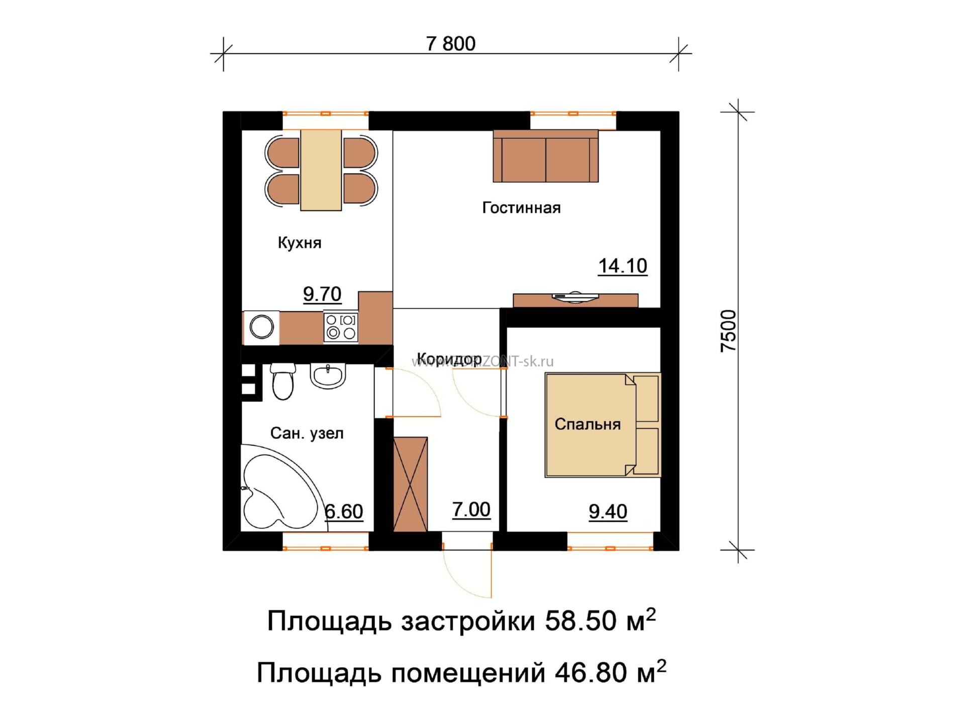 Дом Норман план