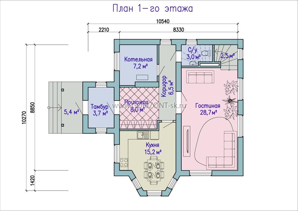 Дом Альпо план