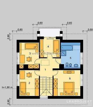 Дом Канзас план