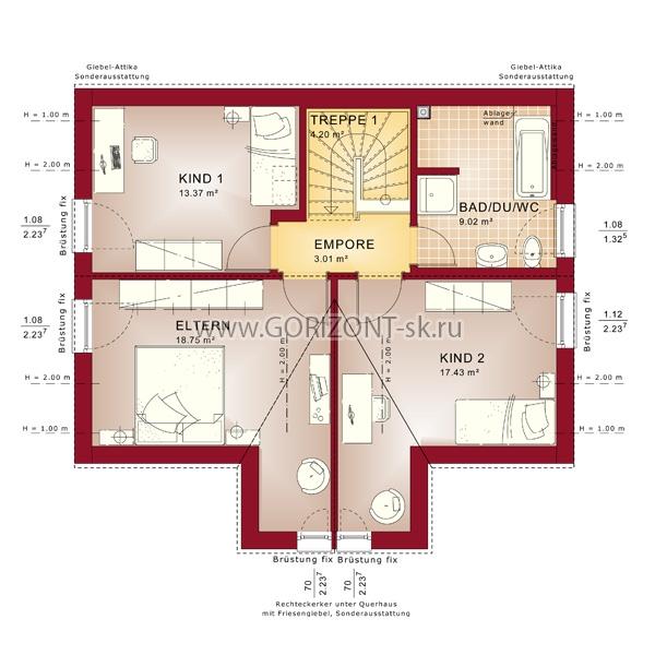Дом Гемпшир план
