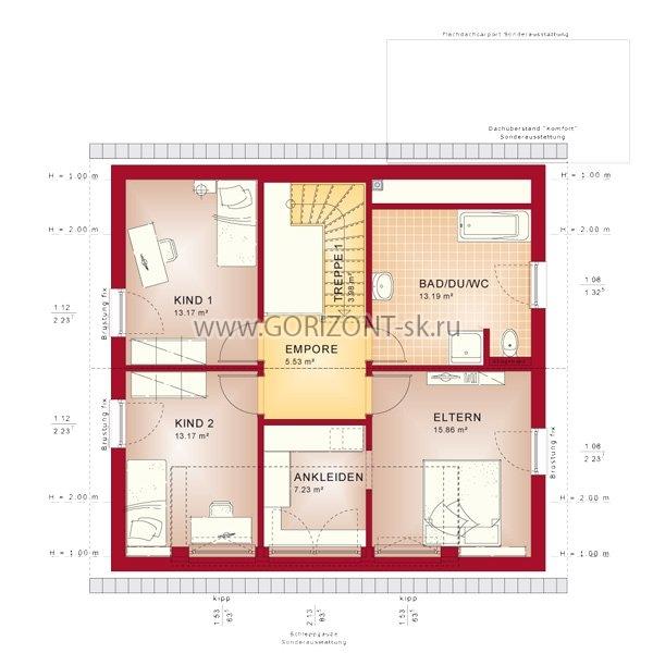 Дом Куббо план