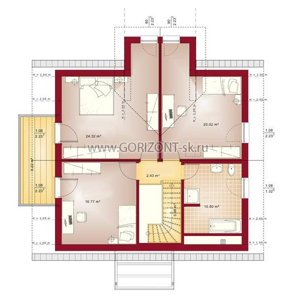 Дом Маскум план