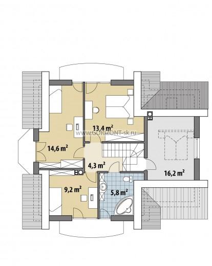 Дом Верона план
