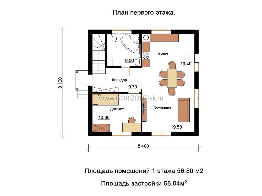 Дом Кварт план